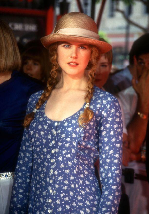 Tältä Kidman näytti vuonna 1993. Tuolloin Kidman tähditti elokuvia Petos mielessä ja Elämäni.