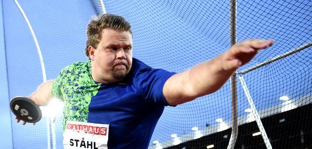 Daniel Ståhl on kiekonheiton ykkösmies.