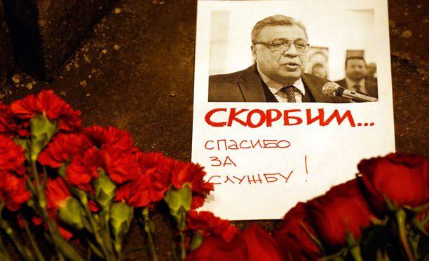 Venäjän suurlähettiläs Andrei Karlov ammuttiin eilen Turkissa.