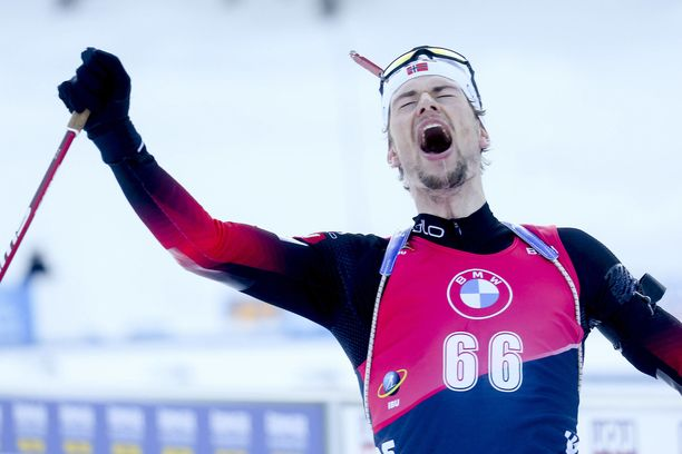 Sturla Holm Laegreid otti sunnuntaina yhteislähdössä MM-kultaa.