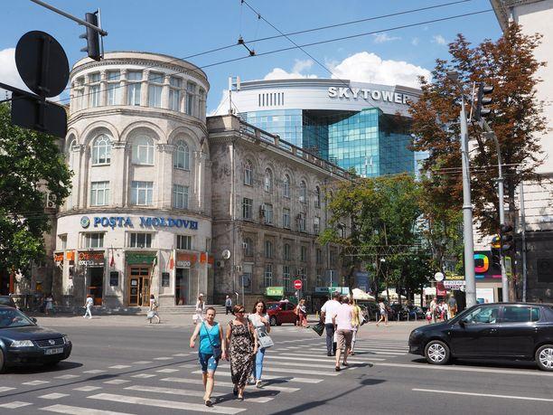 Uusi ja vanha Chisinau kohtaavat.