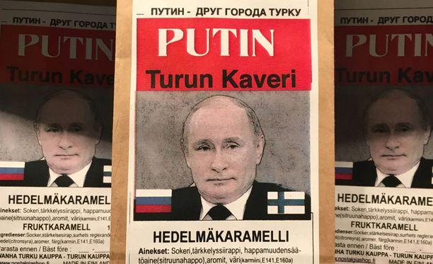Putin-karkista on kauppiaan mukaan tullut jo somehitti.