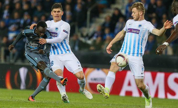 Pione Sisto ampuu Celta Vigon Eurooppa-liigan välieriin.
