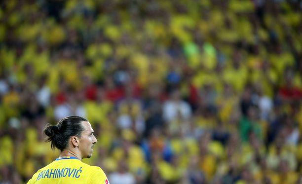Zlatan Ibrahimovicia ei enää nähdä Ruotsin maajoukkuepaidassa.