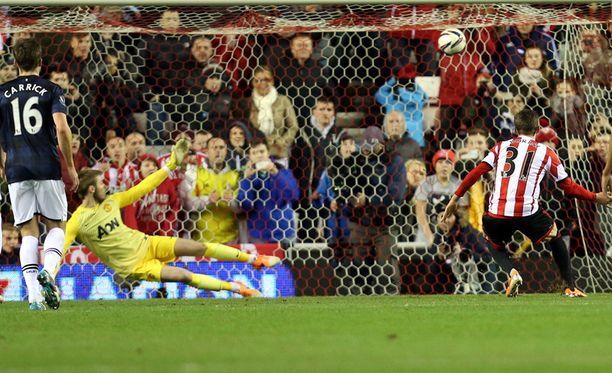 Rankkari ratkaisi pelin Sunderlandille.