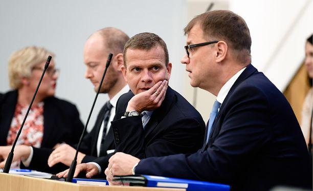 Petteri Orpoa kannatti pääministeriksi 30,6 prosenttia vastanneista.