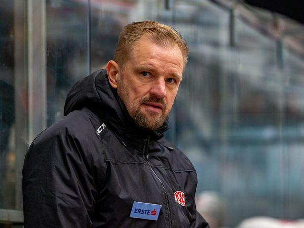 Petri Matikainen on valmentanut Klagenfurter AC:tä kaudesta 2018-19,