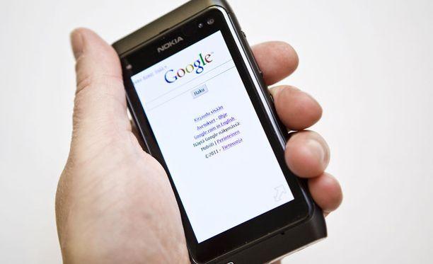 Google-hakuja tehdään edelleen varsin vähän Suomessa.