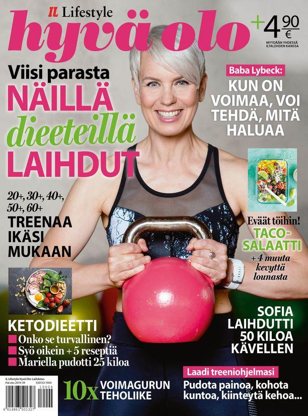 Lue lisää laihdutuksesta ja kuntoilusta Hyvä olo -lehdestä.