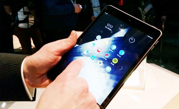 Tältä näyttää Nokian uusi tabletti.