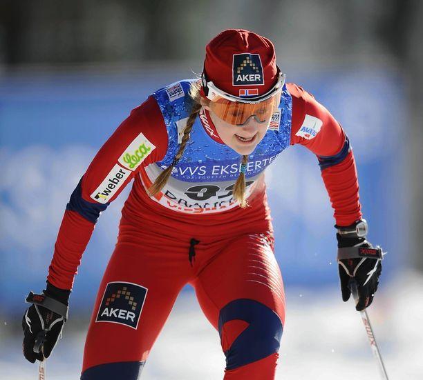 Ingvild Flugstad Östbergillä oli melkoisesti ruutia reisissä vuonna 2011.