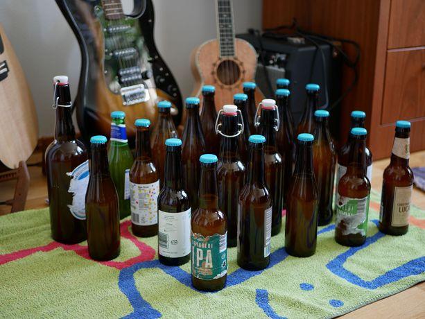 Antti Siepin tekemä tuorein oluterä pullotettuna.