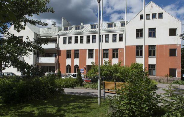 Onnettomuus tapahtui Kaunialan sairaalassa.