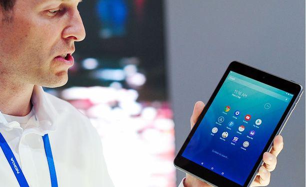 Nokia esitteli Kiinassa myytävää Androidia käyttävää N1-tablettiaan Barcelonan MWC-messuilla viime viikolla.