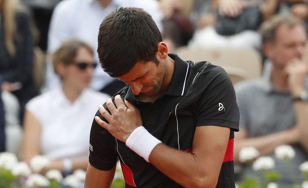 Novak Djokovicin turnaus päättyi Ranskassa pettymykseen.