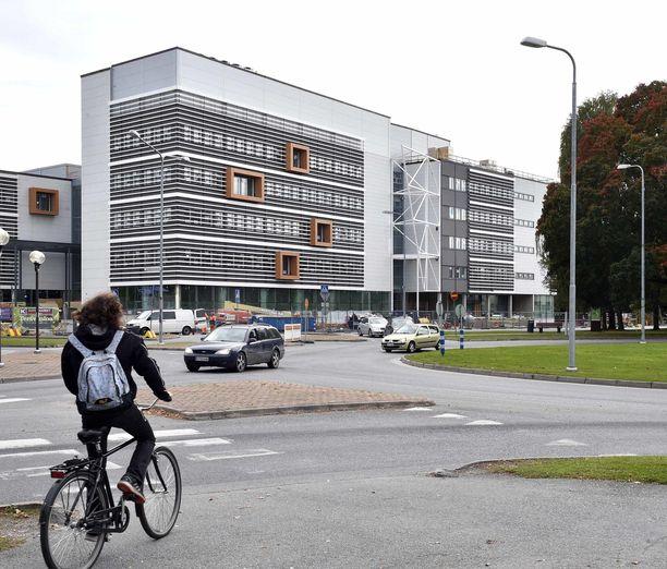 Satakunnan ammattikorkeakoulu kampus SAMK.