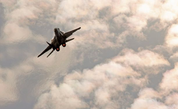 Venäjä on antanut Turkille selvityksen ilmatilan loukkauksesta. Arkistokuvassa venäläinen MIG-35-hävittäjä.