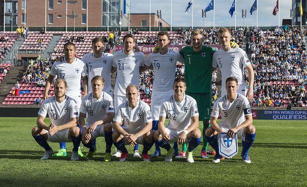 Suomi hävisi Ukrainalle 1-2.