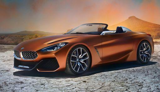 Matala leveä maski ja vauhdikkaat sivulinjat edustavat uutta BMW-muotoilua.