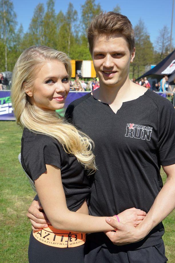 Keväällä 2014 Lotta ja Kristian osallistuivat Extreme run -juoksutapahtumaan.