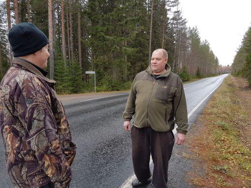 Villepetteri Hänninen (vas.) ja Kimmo Hänninen halusivat tuoda asian julkisuuteen, koska haluavat, että metsästyksessä ilmeneviin asennepuutteisiin puututaan.