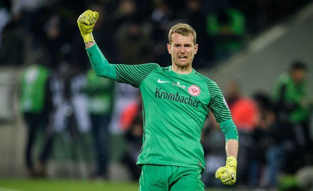 Lukas Hradecky nauttii suurta arvostusta Saksassa.