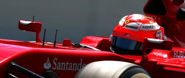 Kimi päihitti taas Alonson.