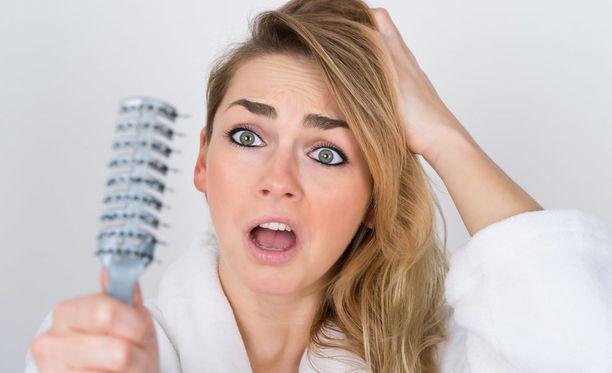 Päivässä irtoaa normaalisti noin sata hiusta.