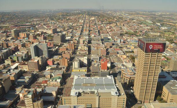 Etelä-Afrikan Johannesburg valittiin kaikkein epäystävällisimmäksi kaupungiksi.