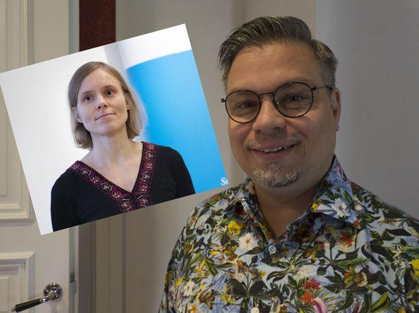 Anni Kytömäki ja Tommi Kinnunen ovat tavoitelleet Finlandia-palkintoa ennenkin.