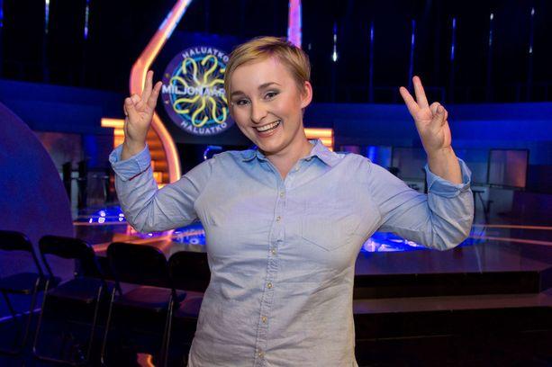 Janika tuuletti voitettuaan muhkean summan illan Haluatko miljonääriksi -jaksossa.