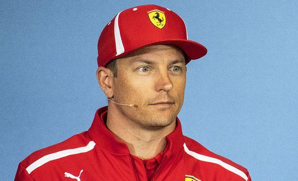 Kimi Räikkösellä ajaa jo kahdeksatta kautta Ferrari-tallissa.
