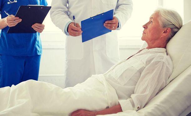 Potilaana ihminen on usein heikko ja avuton. Se voi olla pelottavaa ja masentavaa.