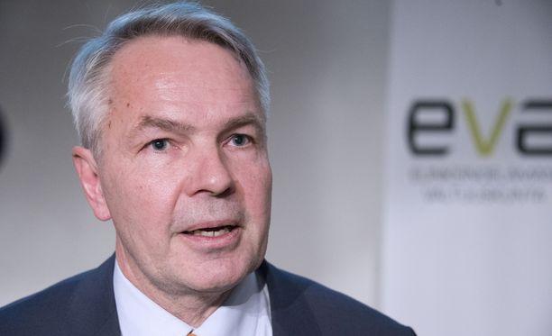 Vihreiden presidenttiehdokas Pekka Haavisto oli tiistaina Ylen tentissä.