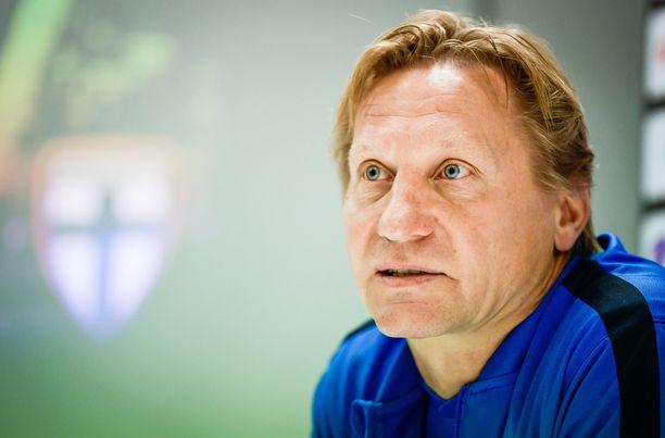 Kimmo Lipponen toimii 19-vuotiaiden päävalmentajana.