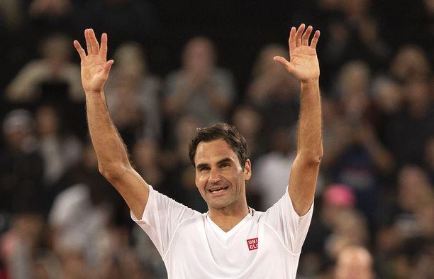 Roger Federer on voittanut urallaan 20 Grand Slam -turnausta.