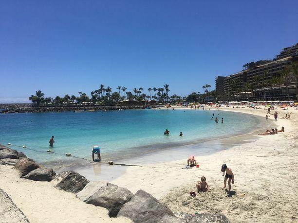 Anfi Beach on Anfi del Mar -resortin ranta, jota saavat käyttää muutkin kuin sen asukkaat. Tyyni ja turvallinen ranta sopii hyvin lapsiperheille.