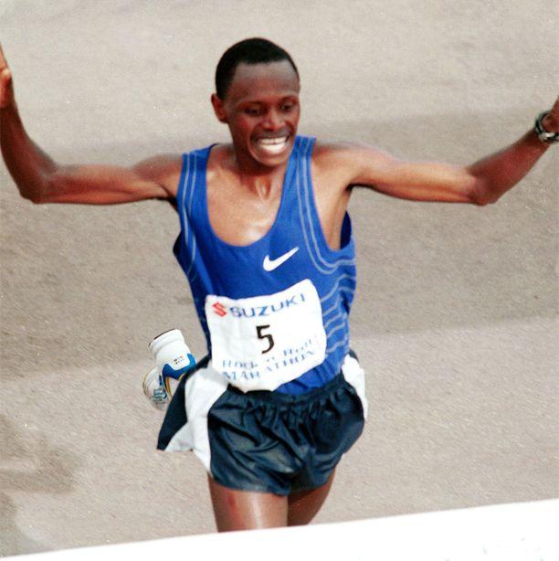 Maratoonari John Kagwe on kuin kuka tahansa kestävyysjuoksija: lyhyt ja kevytrakenteinen.