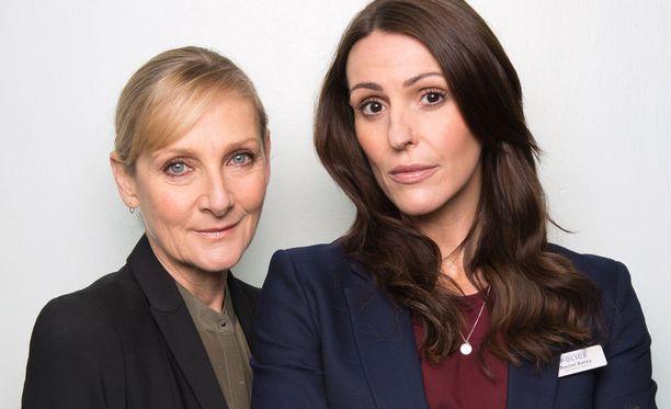 Scottia & Baileya esittävät Lesley Sharp & Suranne Jones.
