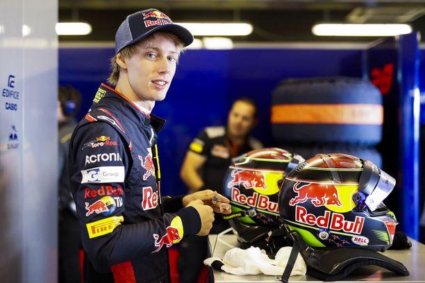 Brendon Hartley ajaa ensi vuonna Pierre Gaslyn kanssa Toro Rosso-Hondalla.
