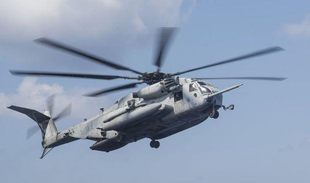CH-53E Super Stallion putosi kesken harjoituksen.