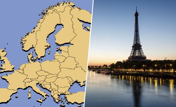 Tunnistatko Euroopan maiden liput? Todennäköisesti et, koska tästä testistä saa täydet pisteet vain todellinen tietäjä.
