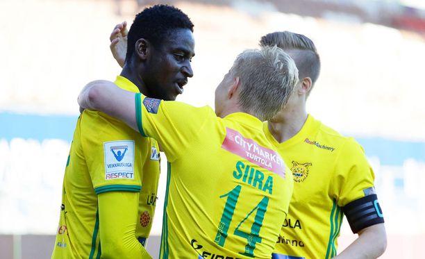 Tuco (vas.) viimeisteli HIFK:n verkkoon kauden kuudennen maalinsa.