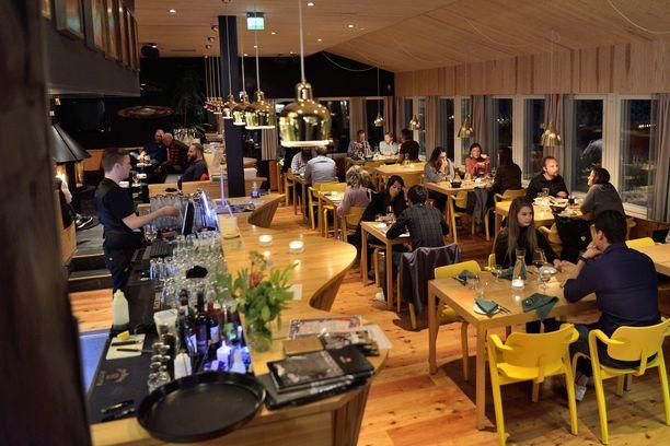 Nikulat ovat halunneet säilyttää hotelli-ravintolassaan alkuperäistä 1950-luvun henkeä.