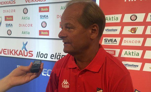 Antti Muurisen mukaan HIFK:n pelaajamateriaali on riittävä sarjapaikan säilyttämiseen.