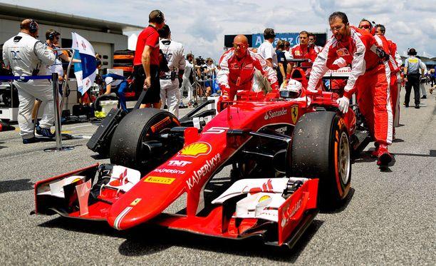 Jatkuuko Ferrarin vahva meno ensi viikolla Kiinassa?