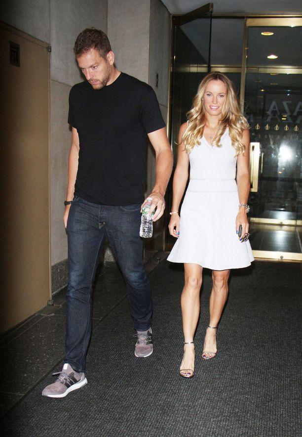 David Lee ja Caroline Wozniacki menivät loppuviikosta kihloihin.