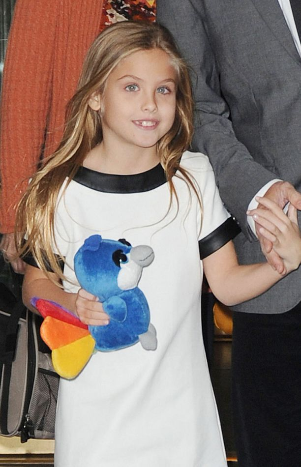 Vuonna 2013 tyttö osallistui Today Show -ohjelmaan, tuolloin hän oli kuusi.