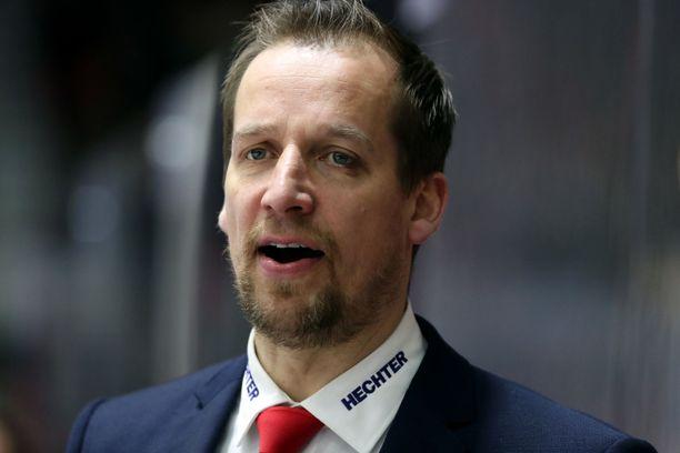 Antti Törmänen valmensi Helsingin IFK:ssa ennen kuin siirtyi Sveitsiin.