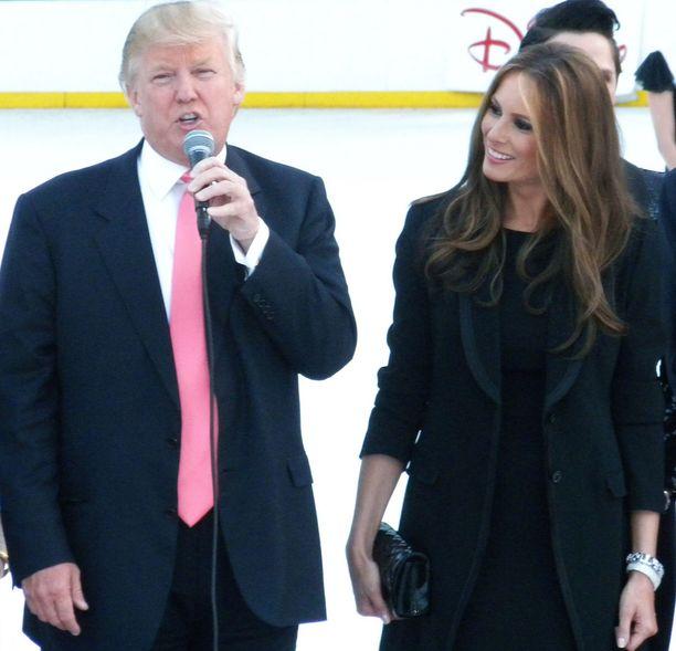 Donald Trump on nykyisin naimisissa Melania Trumpin kanssa.